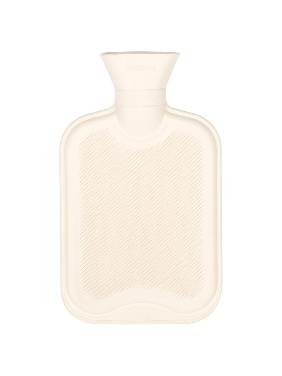 Kaschmir-Wärmflasche Florentina, Bezug: 70% Kaschmir, 30% Merinow, Bezug: RosaZierschleife: CremeweißWärmflasche: Cremeweiß, 19 x 30 cm