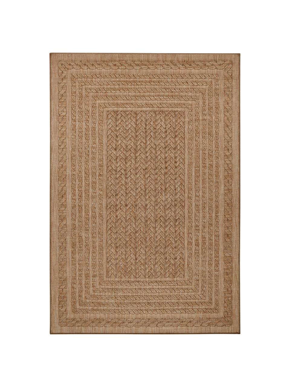 In- & Outdoor-Teppich Limonero in Jute Optik, 100% Polypropylen, Beige, Braun, B 200 x L 290 cm (Größe L)