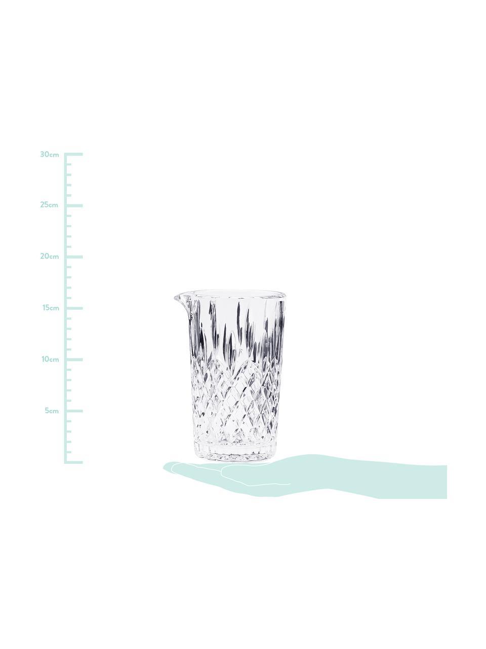 Kryształowa karafka Waltham, 500 ml, Szkło kryształowe, Transparentny, 500 ml