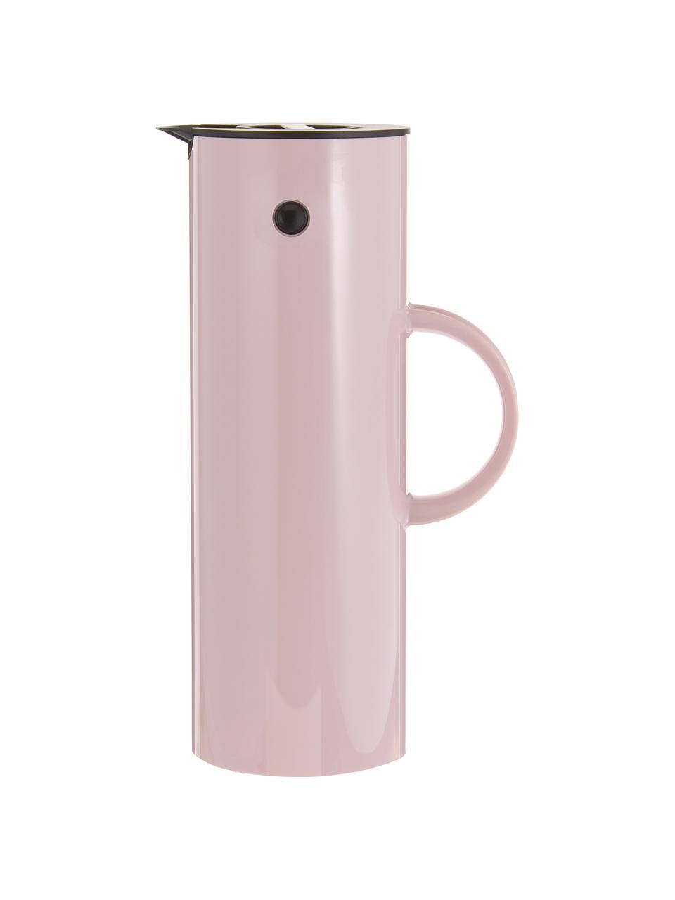 Brocca isotermica rosa lucido EM77, 1 L, Esterno: acciaio inossidabile, riv, Interno: materiale sintetico ABS c, Lavanda, 1 L