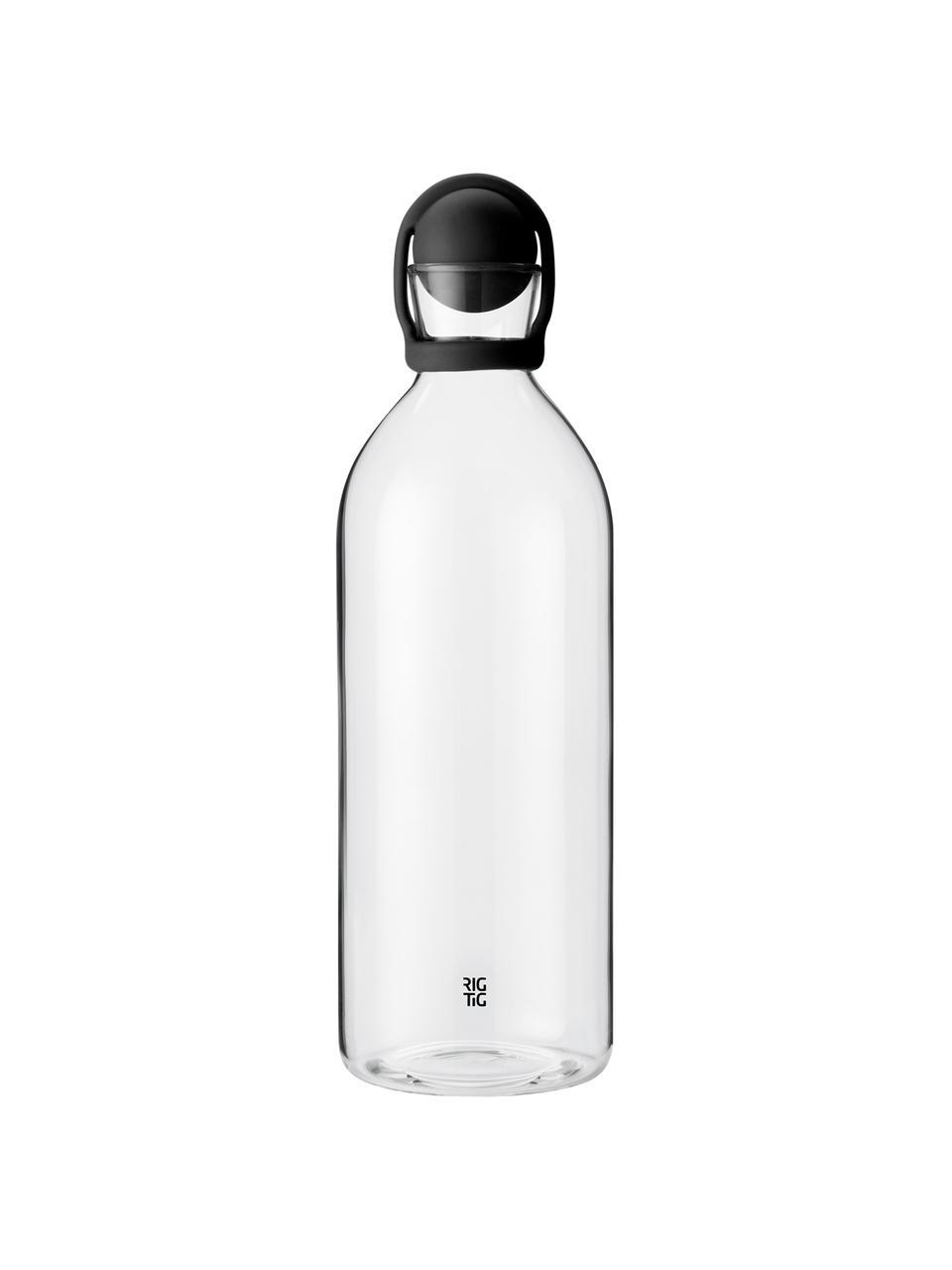 Karafka do wody Cool-It, 1,5 l, Czarny, transparentny, W 31 cm