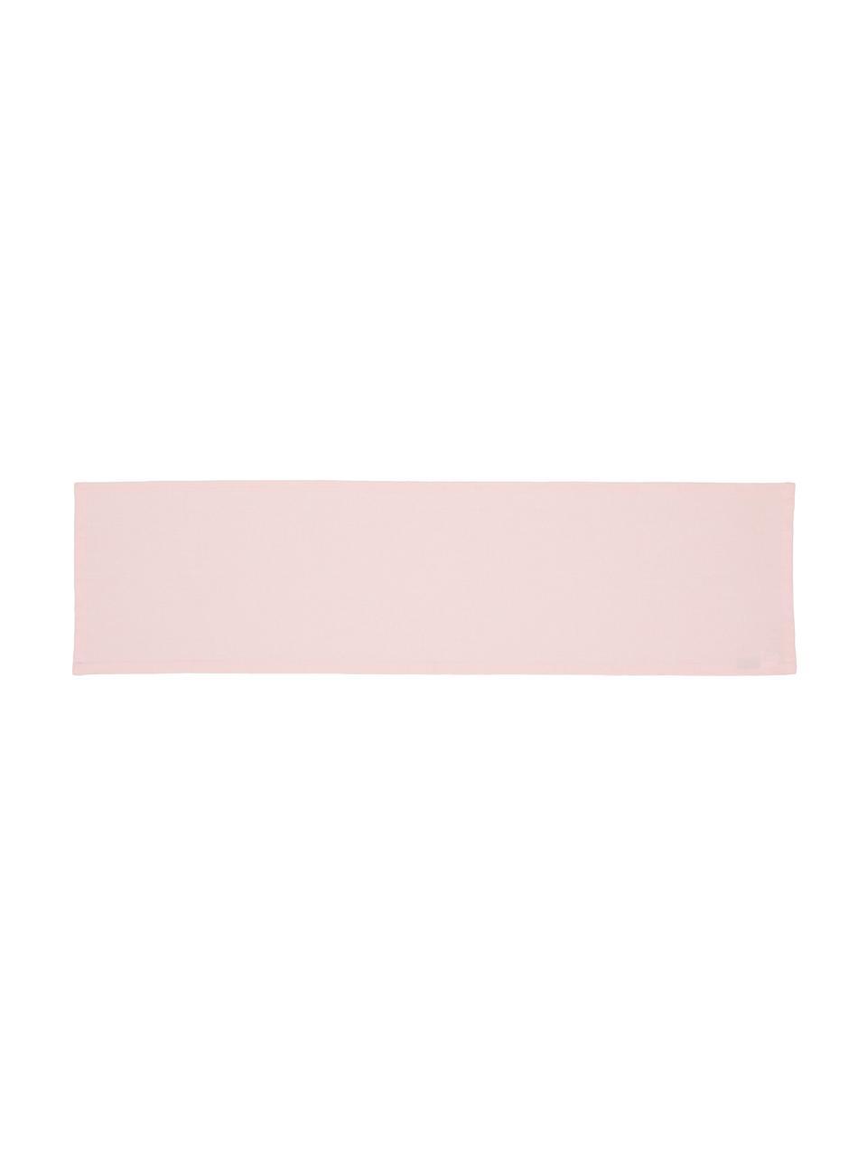 Tischläufer Riva aus Baumwollgemisch in Rosa, 55%Baumwolle, 45%Polyester, Rosa, 40 x 150 cm