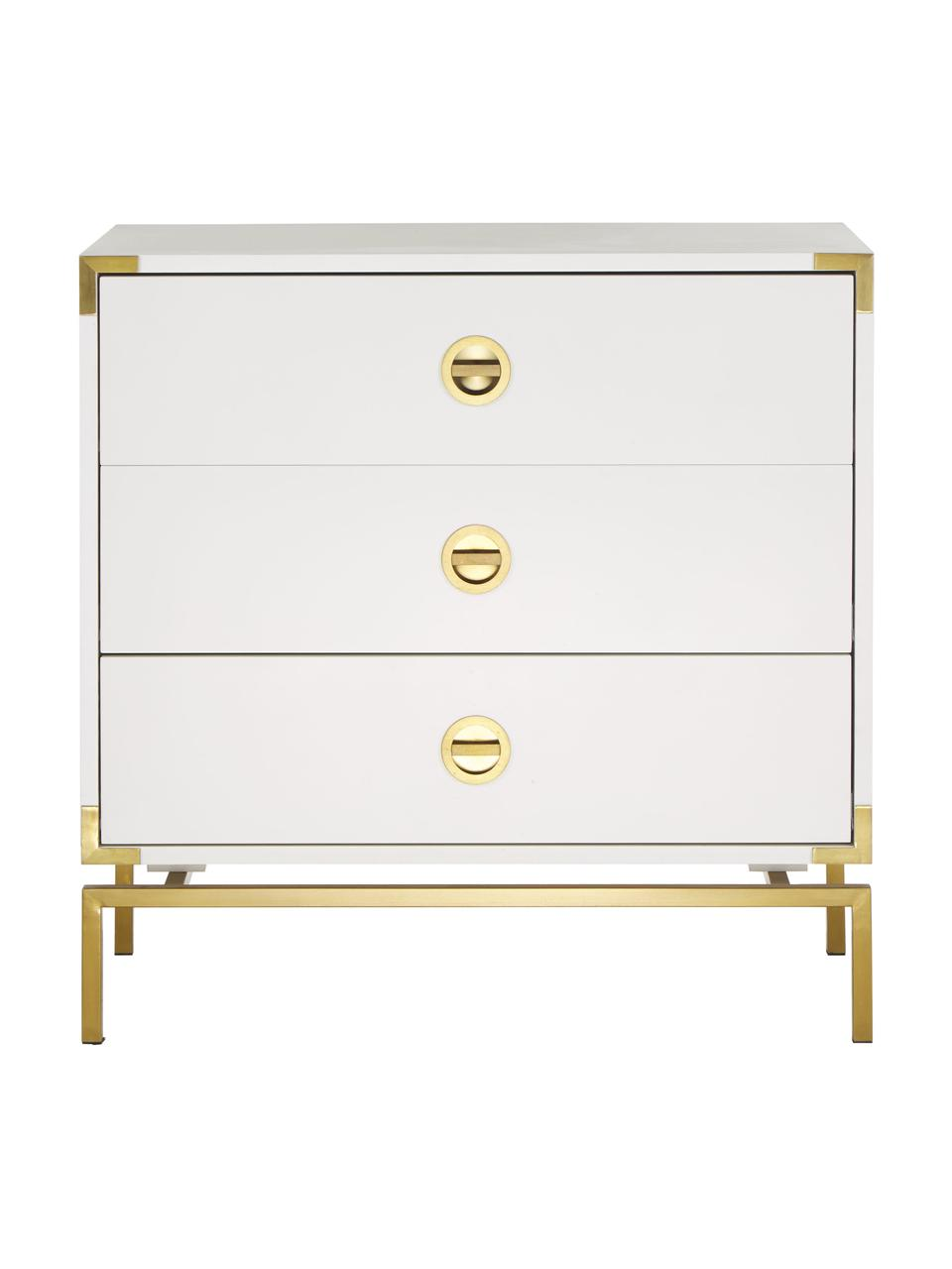 Commode blanche Elegance, Blanc