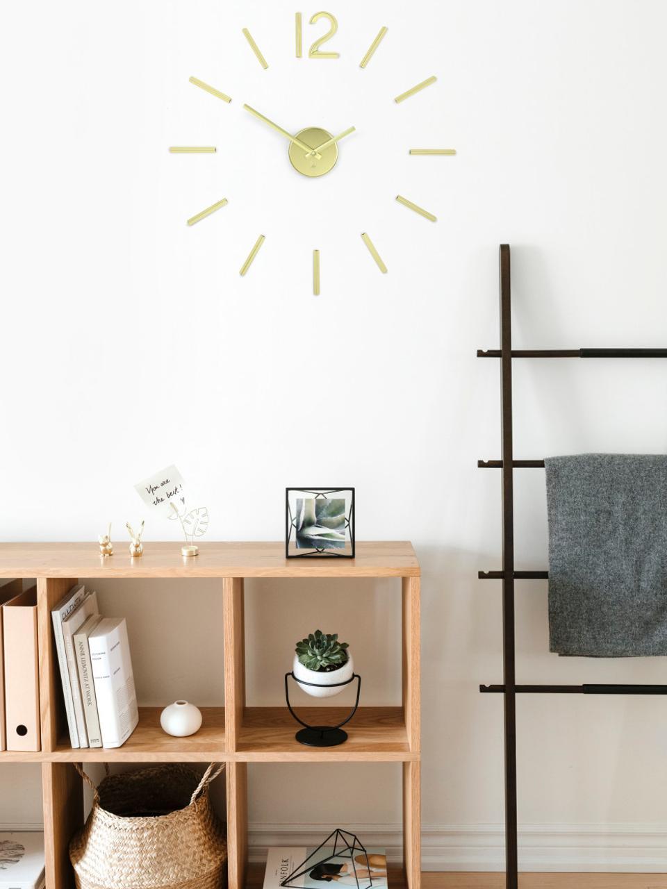 Orologio da parete Blink, Metallo rivestito, Dorato, Ø 100 cm