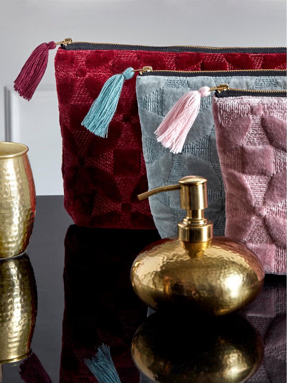 Dosatore di sapone Anetta, Acciaio inossidabile, rivestito, Ottone, Ø 13 x A 13 cm