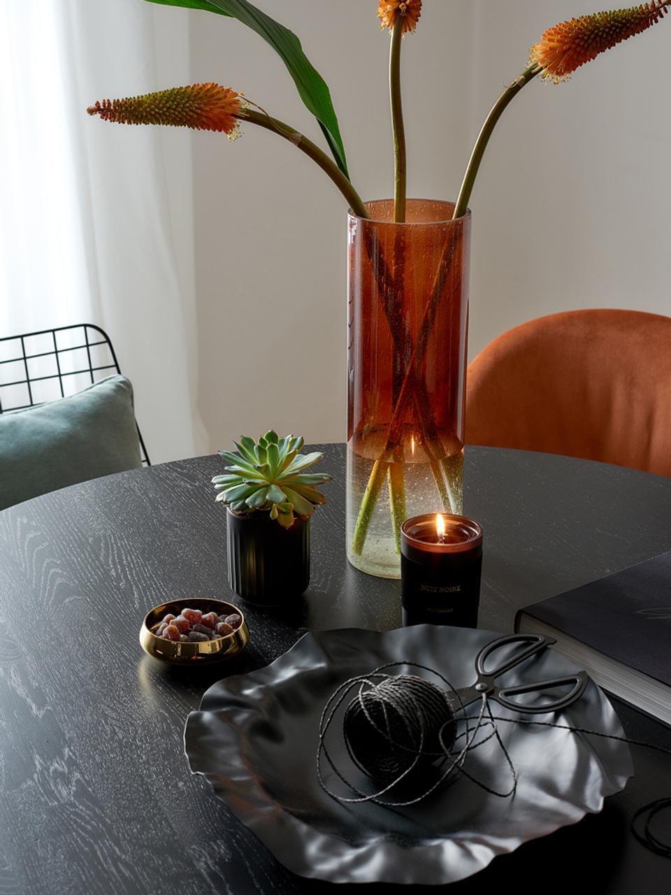 Bougie parfumée Nuit Noire (jasmin et musc), Noir
