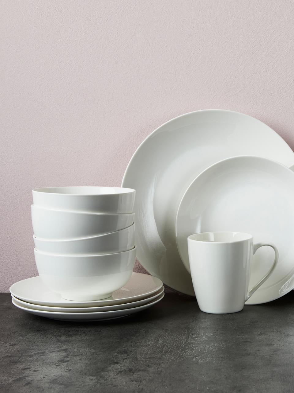 Bol porcelaine Delight, 2pièces, Blanc