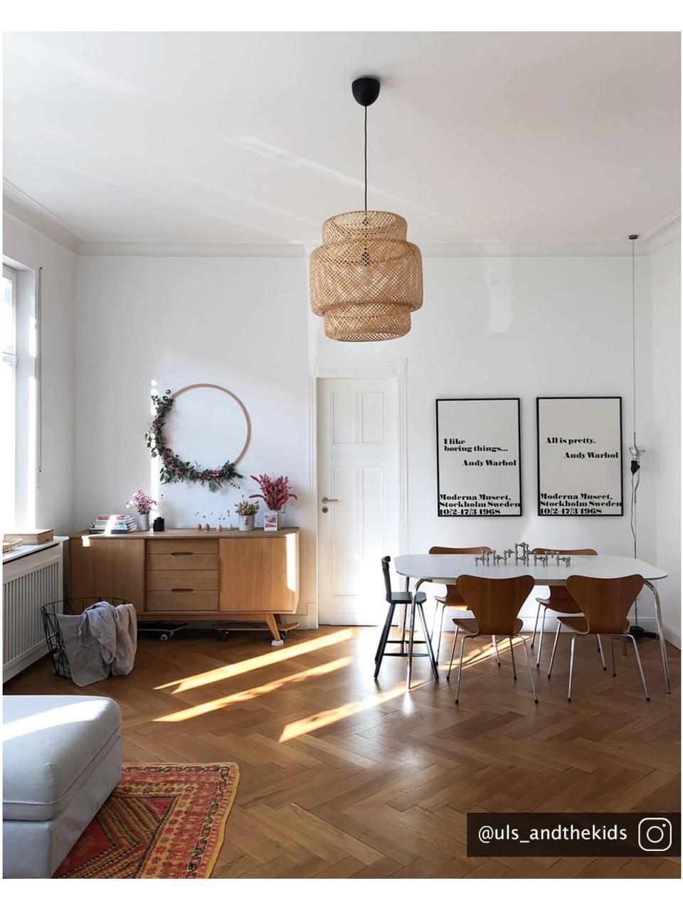 Dressoir Bettina met lades en eikenhoutfineer, Frame: MDF met geolied eikenhout, Poten: massief en geolied eikenh, Bruin, 180 x 84 cm