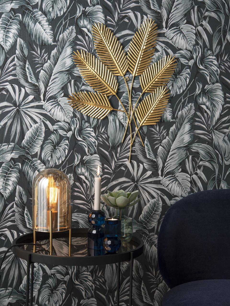 Décoration murale Beech Leaves, Couleur laitonnée