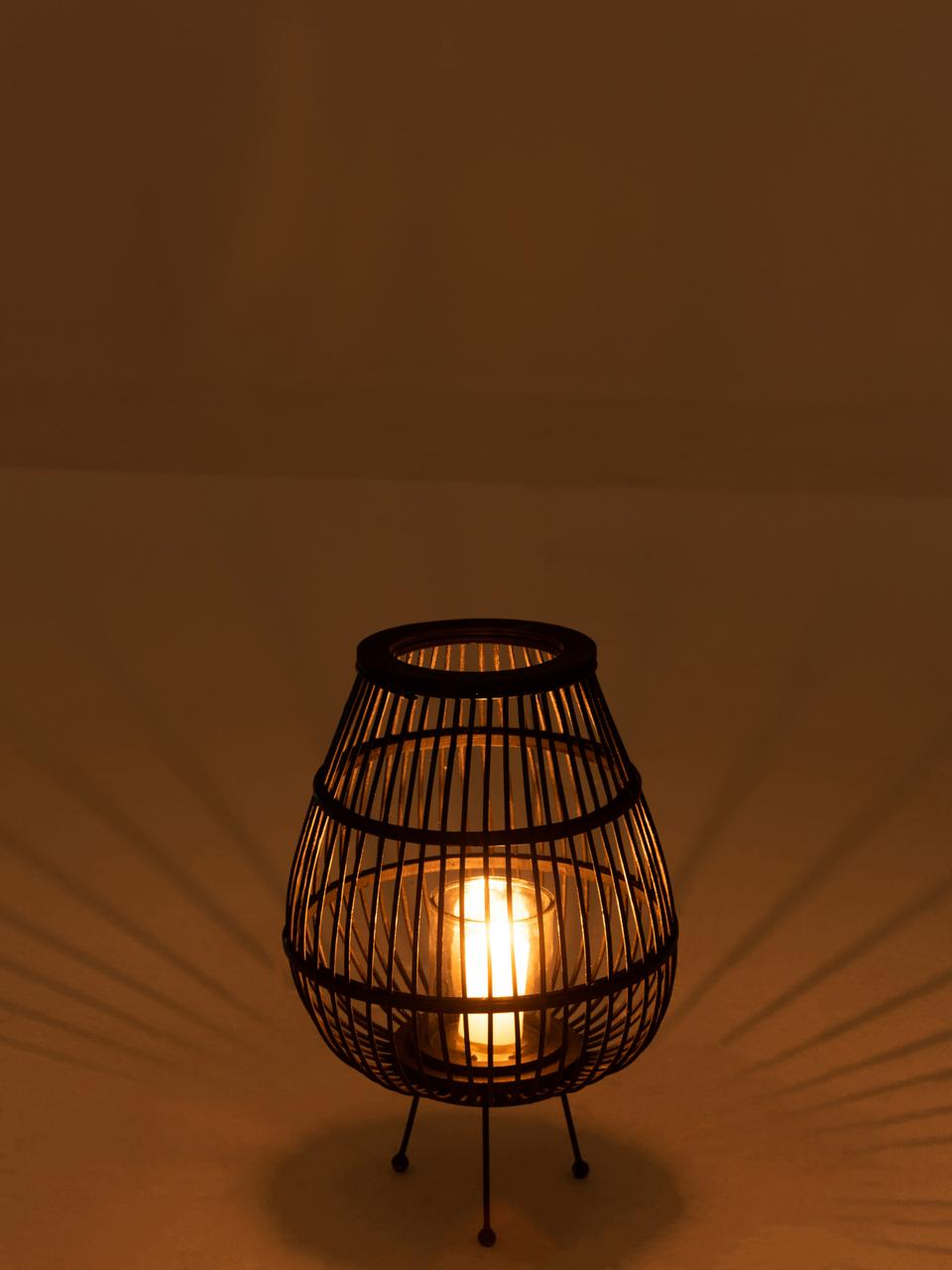 Świecznik Daya, Nogi: metal powlekany, Czarny, Ø 32 x W 47 cm