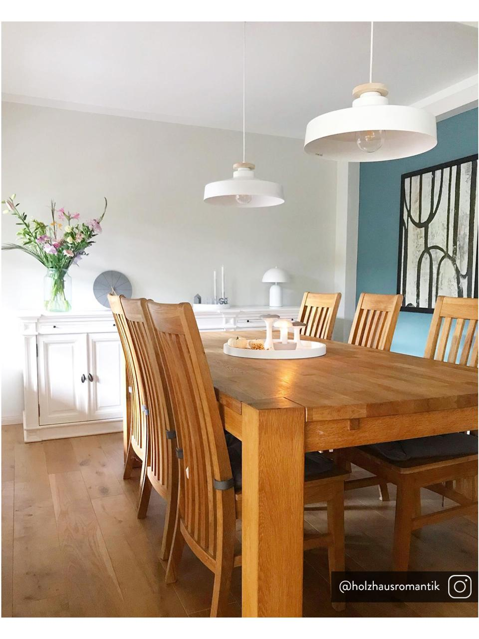 Lampada a sospensione stile nordico Malm, Paralume: metallo, Baldacchino: metallo, Bianco, Ø 40 x Alt. 20 cm