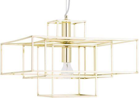 Hanglamp Cube goudkleurig