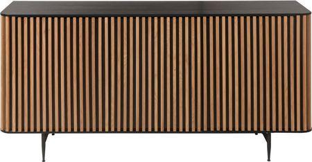 Credenza di design con finitura in quercia Linea