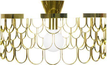 Design plafondlamp Gatsby goudkleur