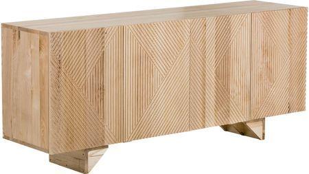 Credenza in legno massello Louis