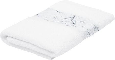 Asciugamano con bordo effetto marmo Malin