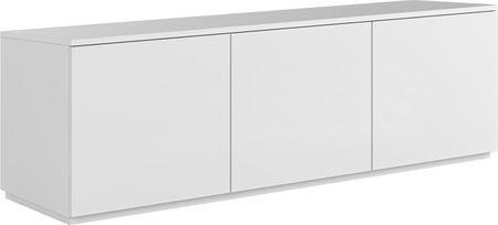 Weißes Lowboard Join mit Türen