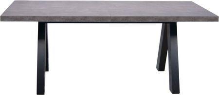 Verlengbare eettafel Apex in betonnen look