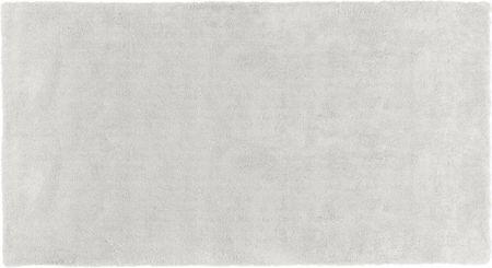 Flauschiger Hochflor-Teppich Leighton in Hellgrau