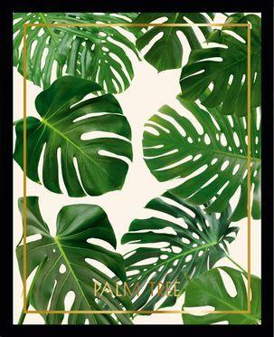 Ingelijste digitale print Palm Tree II