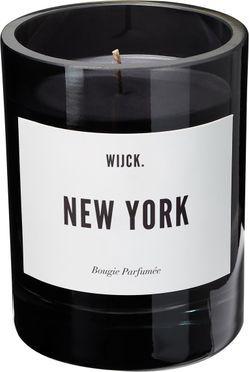 Duftkerze New York (Grüne Zitrone, Rosen & Holz)