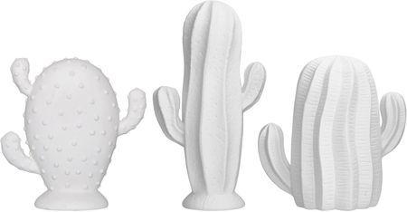Set cactus da decorazione Dina, 3 pz.