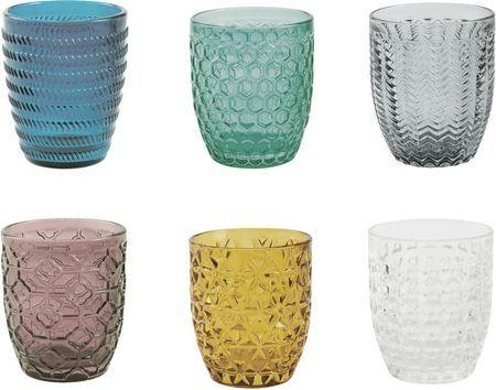 Bicchiere acqua Geometrie, set di 6