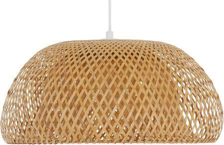 Handgemachte Pendelleuchte Eden aus Bambus