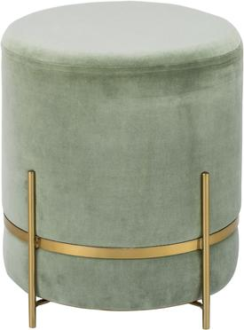 Tabouret en velours Haven