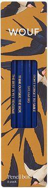 Potlodenset Swallow, 6-delig
