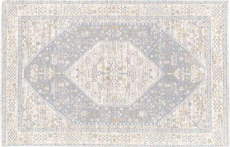 Handgeweven chenille vloerkleed Neapel in vintage stijl
