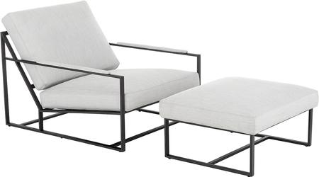 Loungeset Andy, 2-delig