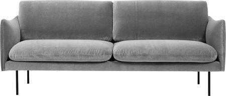 Canapé en velours Moby (2places)