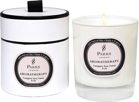 Duftkerze Aromatherapy (Rose, Fresie & Lilie)