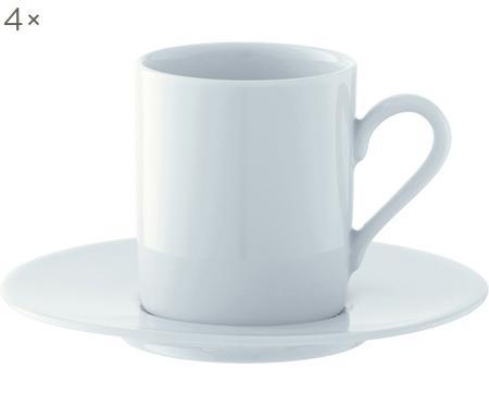 Espressokopjesset Bianco, 8-delig