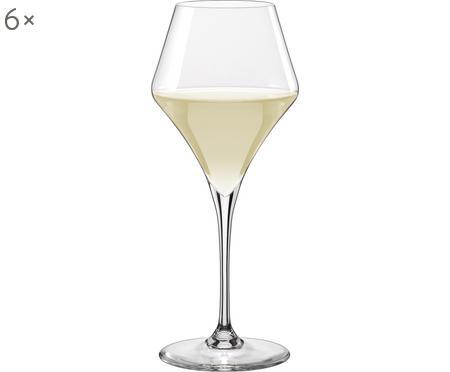 Bauchige Weißweingläser Aram, 6er-Set