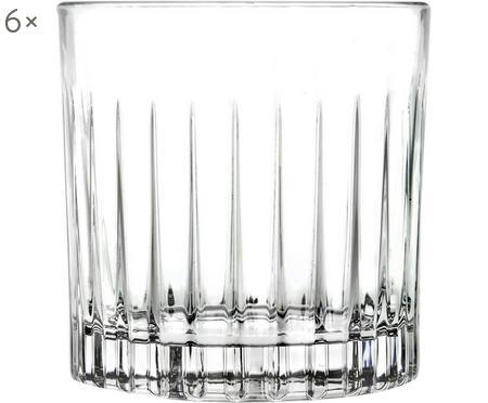 Vasos old fashioned de cristal Timeless, 6uds.