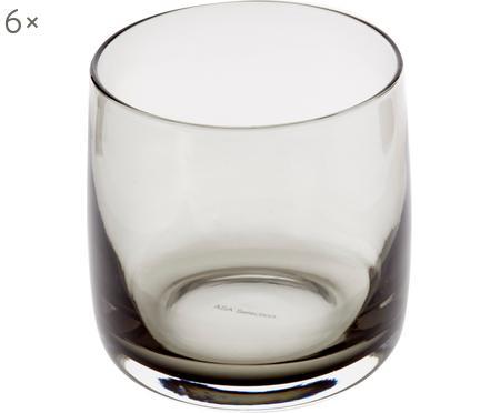 Szklanka do wody Colored, 6 szt.