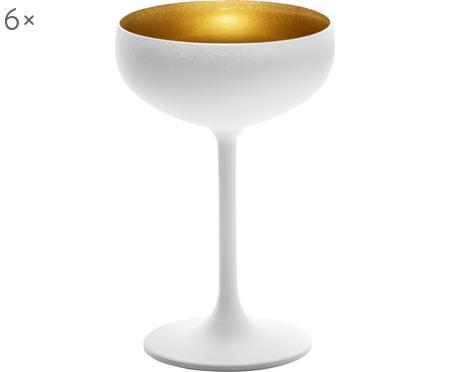 Coppa champagne in cristallo Elements 6 pz