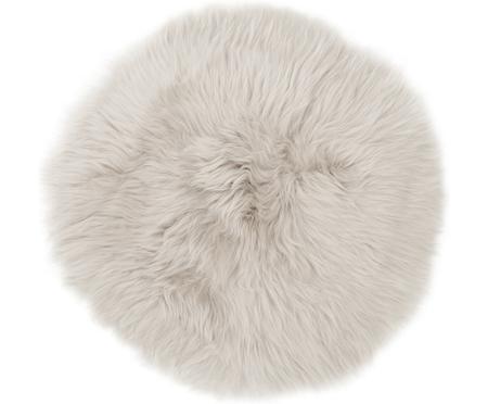 Galette de chaise en peau de mouton lisse Oslo