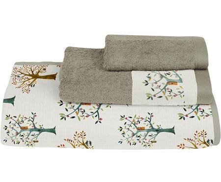 Set de toallas Trees, 3pzas.