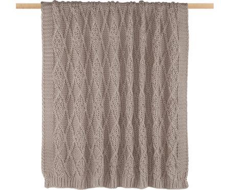 Plaid in cucitura a maglia Darcy