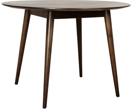 Okrągły stół do jadalni z litego drewna Oscar