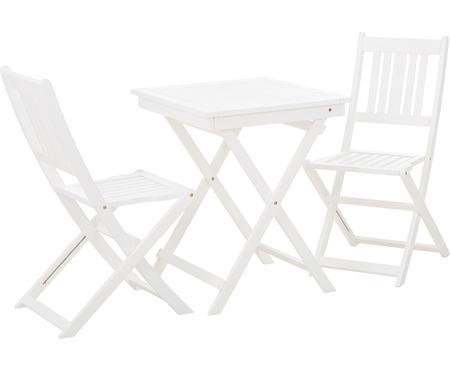 Garten-Sitzgruppe Skyler aus Holz, 3-tlg.