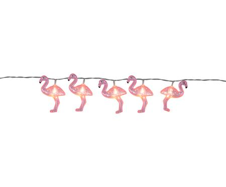 Girlanda świetlna LED Flamingo, 230 cm