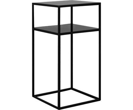 Tavolino in metallo nero Tensio Oli