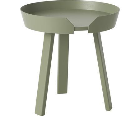 Olivový odkládací stolek Around Small
