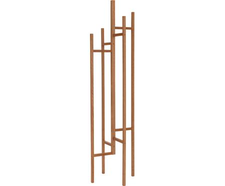 Perchero de madera Eigen, 5 ganchos