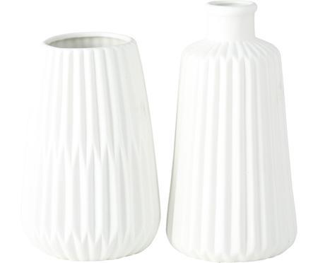 Komplet wazonów z porcelany Esko, 2 elem.