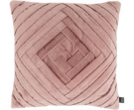 Poduszka z aksamitu z wypełnieniem Marisa